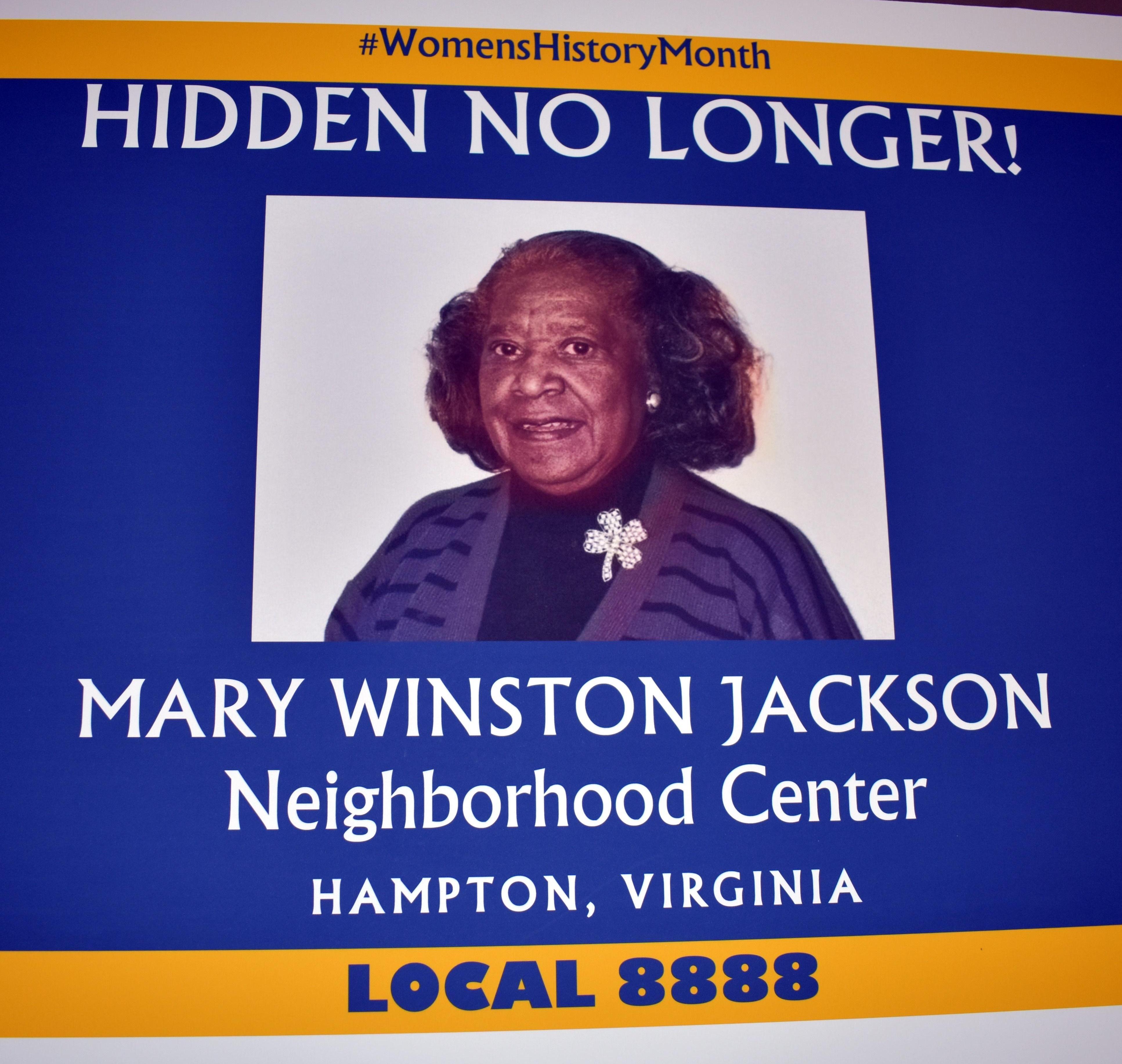 Mary Jackson Poster